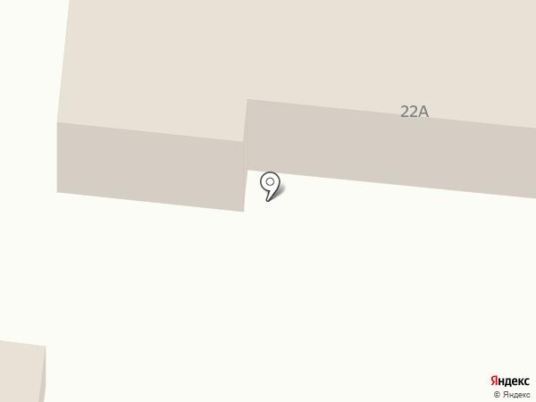 Продуктовый магазин на карте Спутника