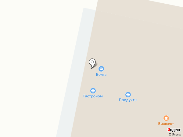 Баку на карте Алексеевки