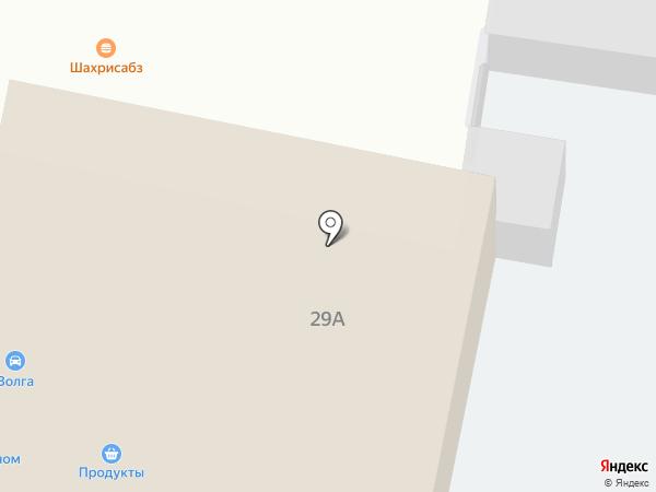 Киоск фастфудной продукции на карте Алексеевки