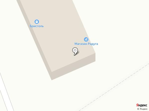 Радуга на карте Алексеевки