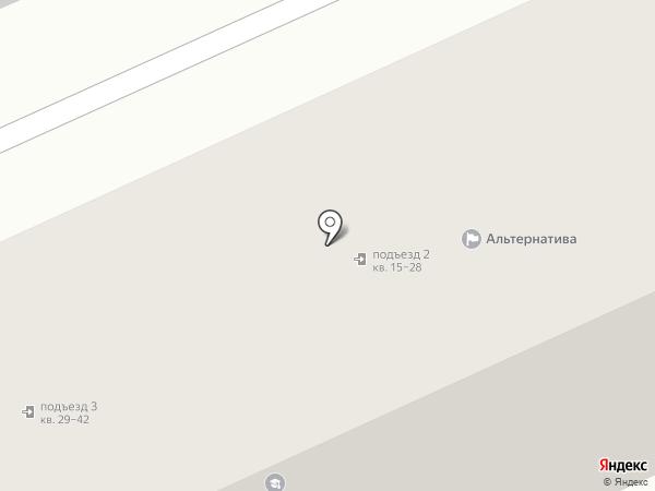 Мараffет на карте Алексеевки