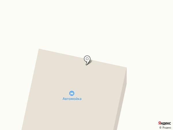 Автомойка на карте Алексеевки