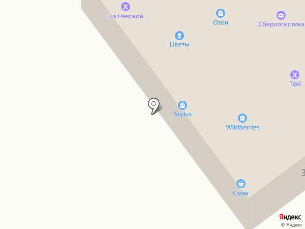 ГАРТ на карте Алексеевки