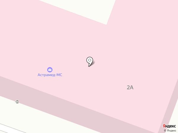 Участковая больница на карте Алексеевки