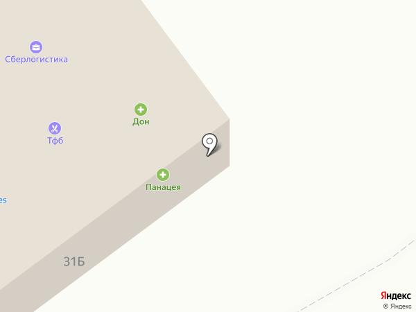 ДОН на карте Алексеевки