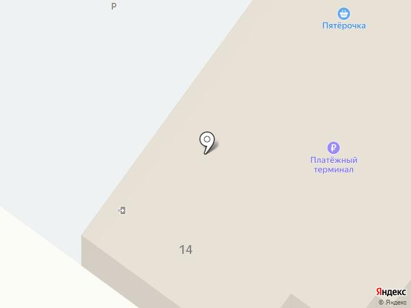 Пятерочка на карте Алексеевки
