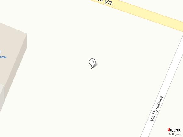 Продуктовый магазин на карте Алексеевки