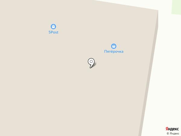 Пятерочка на карте Рощинского