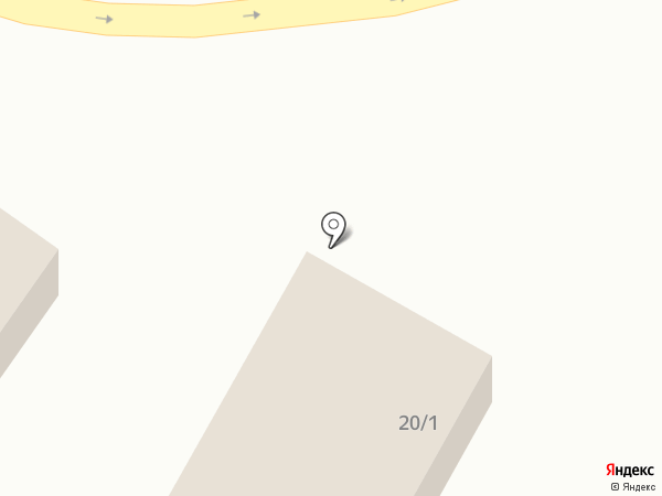 Човский на карте Сыктывкара