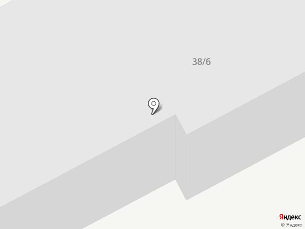 Акрилика-Коми на карте Сыктывкара