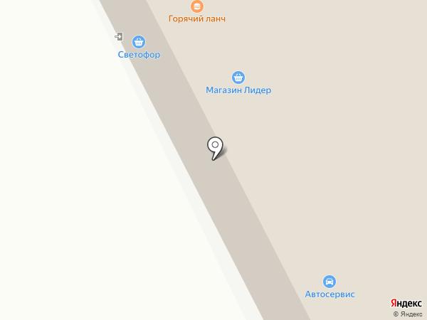 Светофор на карте Сыктывкара