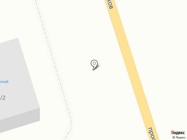 Цветофор на карте Сыктывкара