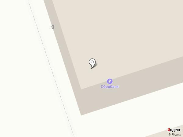 Этикетка на карте Сыктывкара