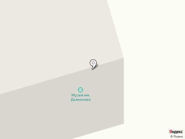 Литературно-театральный музей им. Н.М. Дьяконова на карте Сыктывкара