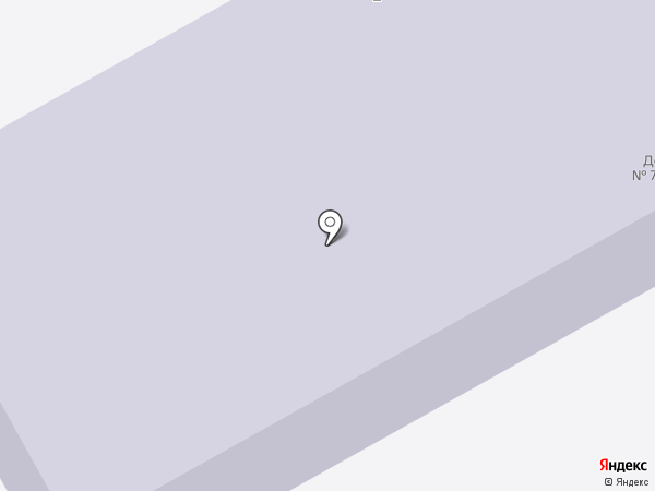 Детский сад №7 на карте Выльгорта