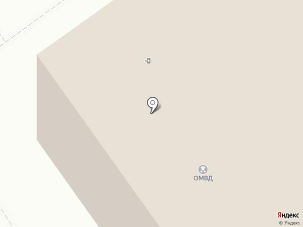 Сыктывдинский межмуниципальный отдел МВД России на карте Выльгорта