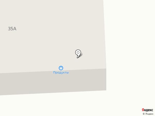 Продовольственный магазин на карте Выльгорта