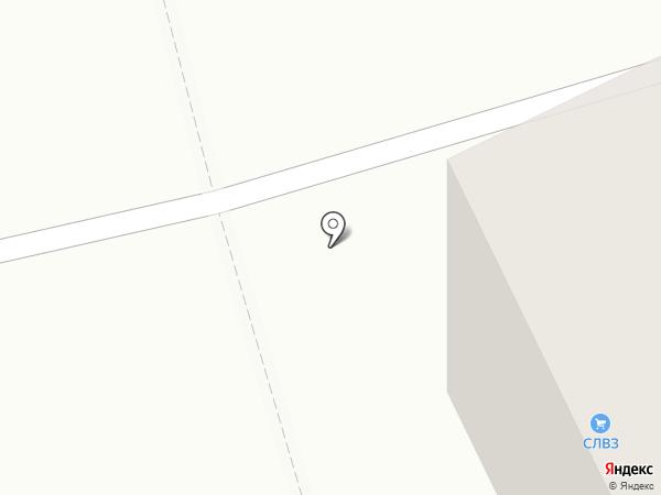 Сыктывкарский ЛВЗ на карте Сыктывкара