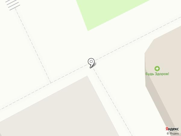 Будь Здоров на карте Сыктывкара