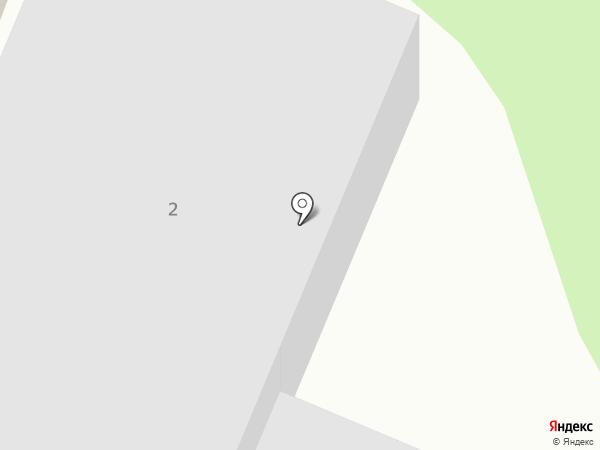 Эстакада на карте Сыктывкара