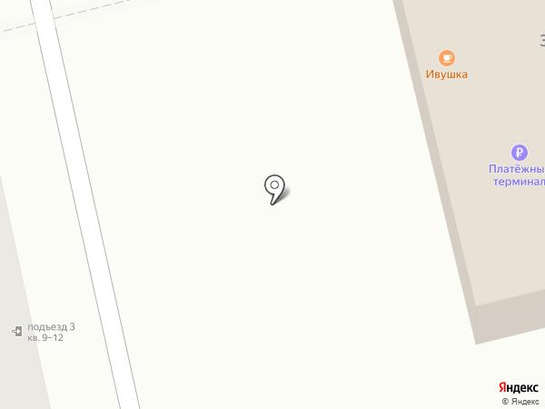 Ивушка на карте Сыктывкара