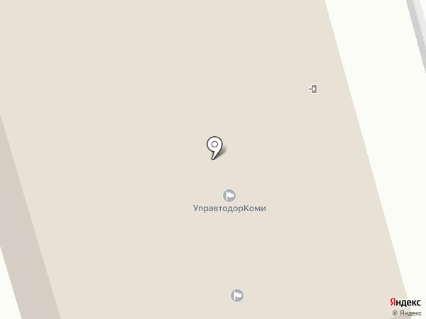 Управление автомобильных дорог Республики Коми, ГКУ на карте Сыктывкара