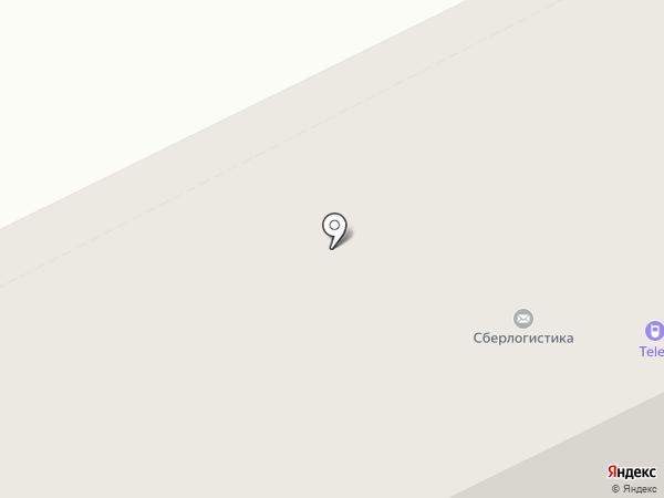 Бюстик на карте Сыктывкара