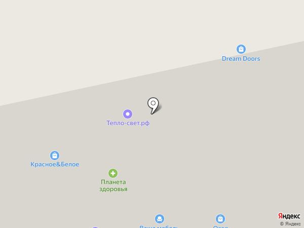 Турист на карте Сыктывкара