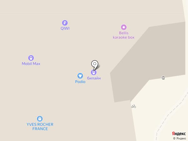 Банкомат, Росбанк, ПАО на карте Сыктывкара