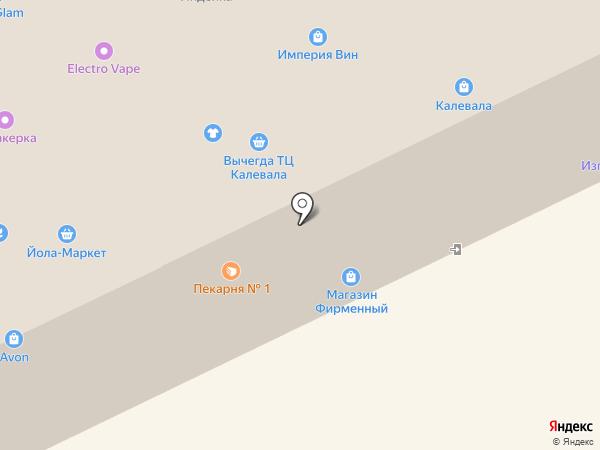 Продовольственный магазин на карте Сыктывкара
