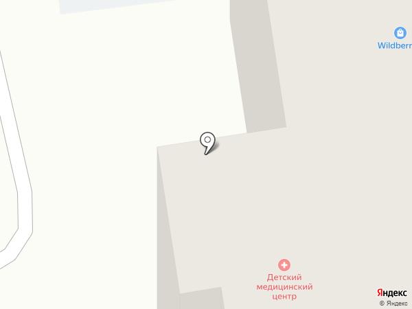 Детский медицинский центр на карте Сыктывкара