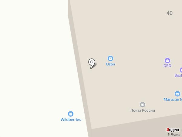 Штопор на карте Сыктывкара