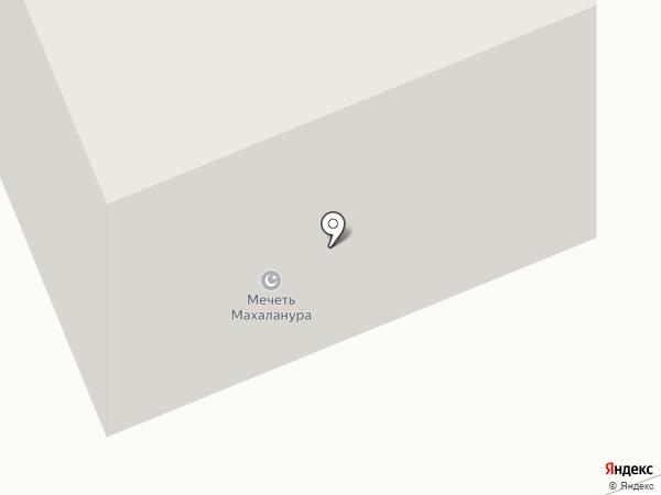 Мечеть Махаланура на карте Сыктывкара