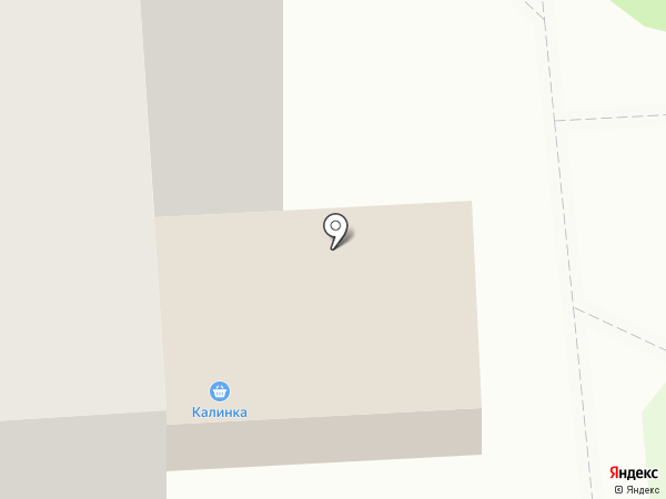 Калинка на карте Сыктывкара