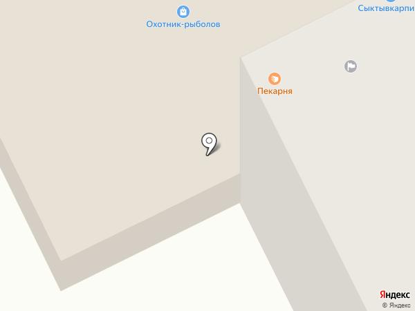 Мм Пицца на карте Сыктывкара
