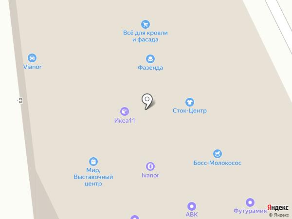 СКАРТ на карте Сыктывкара