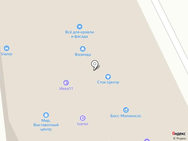 СпецМаркет на карте Сыктывкара