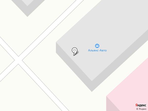 Альянс-Авто на карте Сыктывкара