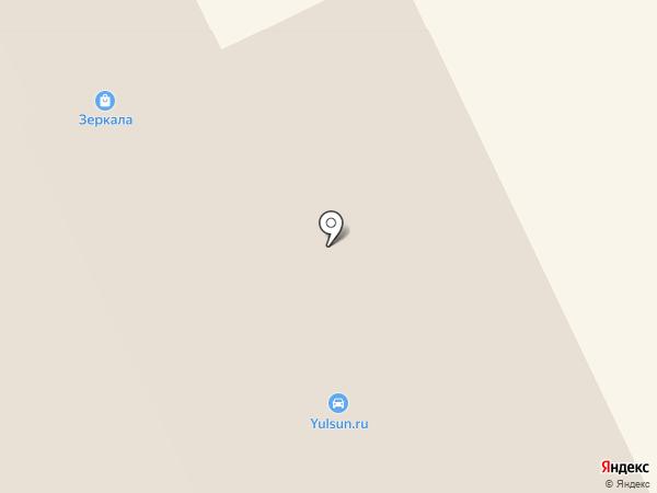 Семейный на карте Сыктывкара