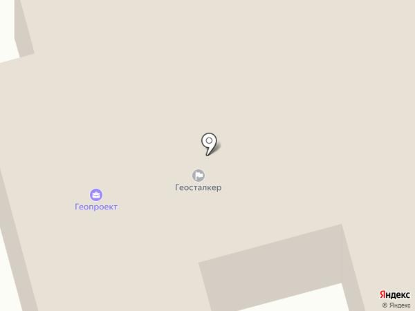 ГЕОСТАЛКЕР на карте Сыктывкара