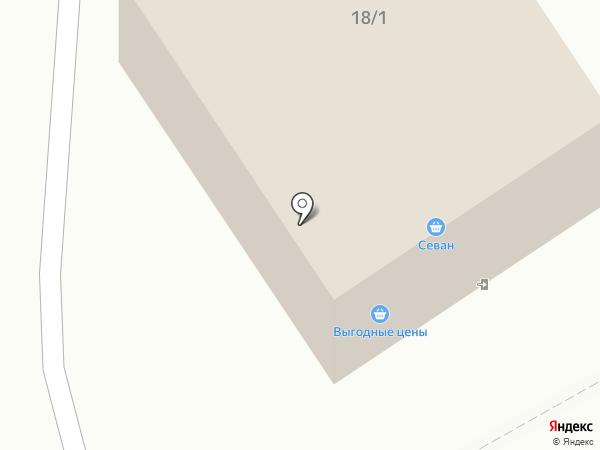 Севан на карте Сыктывкара