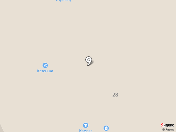 Компания Мир Крепежа на карте Сыктывкара