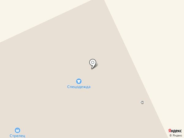 Элегант на карте Сыктывкара