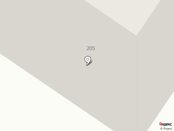 Сыктывкарская на карте Сыктывкара