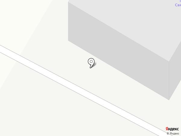 Связьстрой-3 на карте Сыктывкара