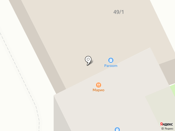 Bauhaus club на карте Сыктывкара
