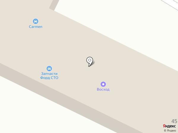 DoorHan Коми на карте Сыктывкара