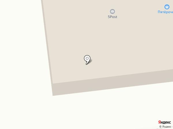 Пятёрочка на карте Сыктывкара