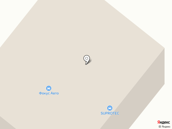 Автопроект на карте Сыктывкара