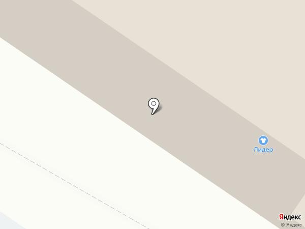 Магазин одежды и головных уборов на карте Сыктывкара